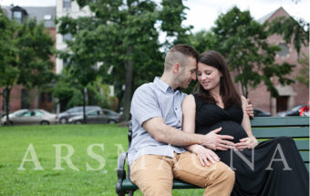 Boston Maternity Portrait .:. South End