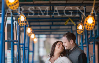 Boston Engagement Portraits .:. Waterfront, North End
