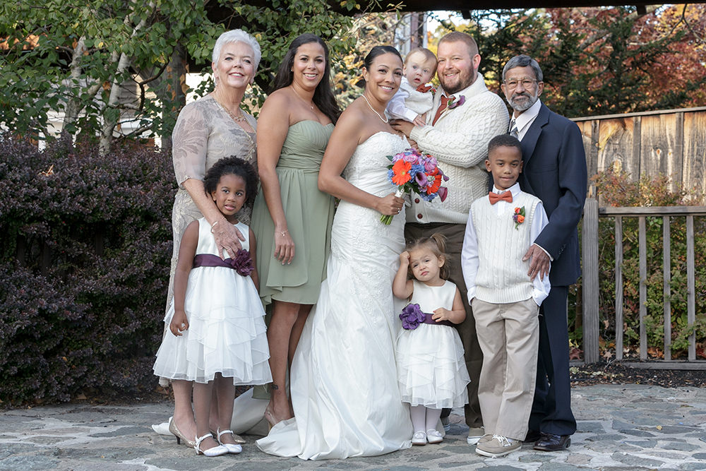 red lion inn wedding photography family portraits