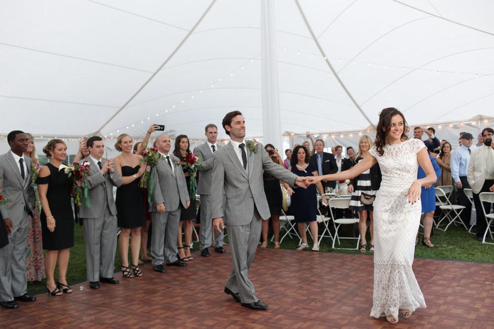 first dance parquet floor settlers crossing lunenberg central mass wedding photographer