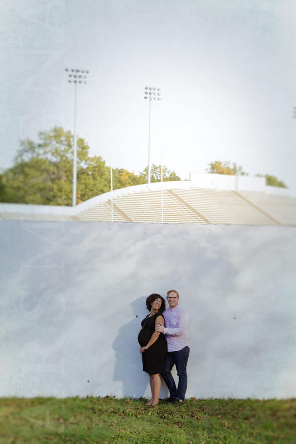 pregnancy photography boston jamaica plain white stadium