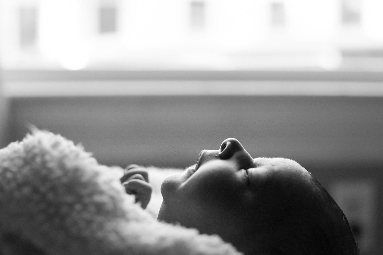 boston family photos in home newborn photography