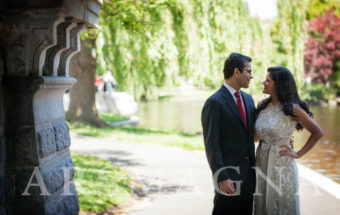 Boston Wedding Photography .:. Civil Ceremony Public Garden