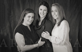 Mother, Daughters and Granddaughters | Generational Family Portrait