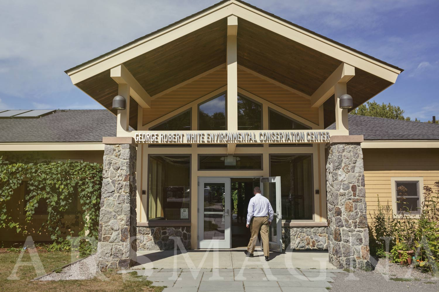 The Environmental Conservation Center at the Boston Nature Center and Wildlife Sanctuary