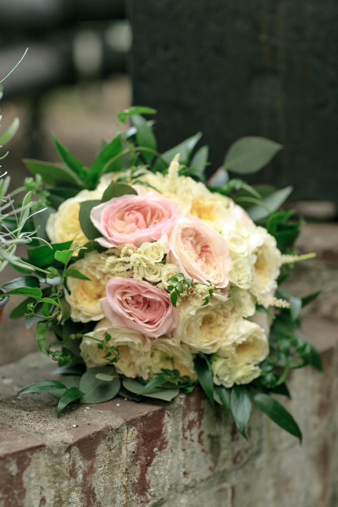 Lyman Estate Greenhouse bridal bouquet