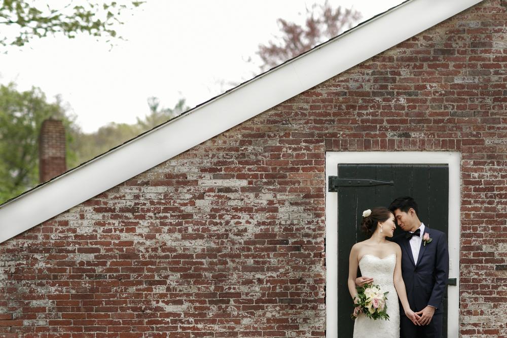 Lyman Estate Wedding Portrait