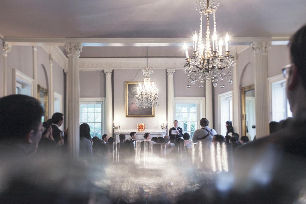 lyman estate ballroom wedding toasts