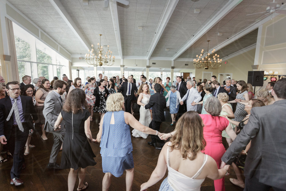 dancing horah oakley country club wedding