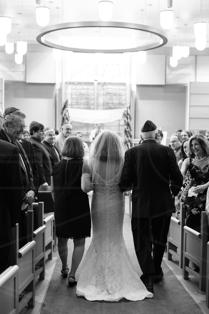 beth el temple wedding belmont aisle