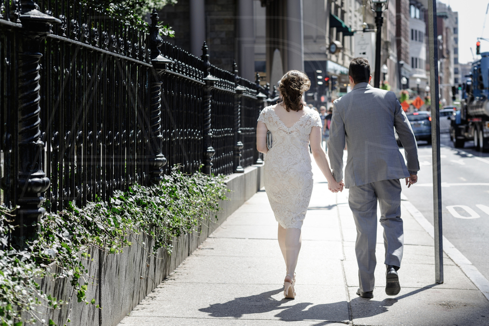 downtown Boston wedding