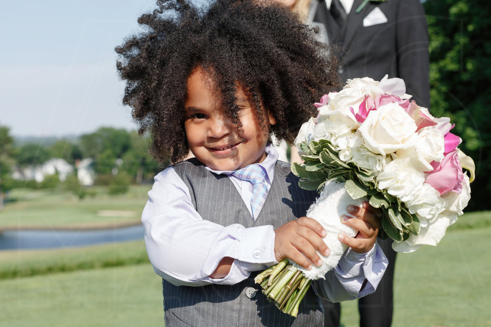 oakley country club wedding ring bearer