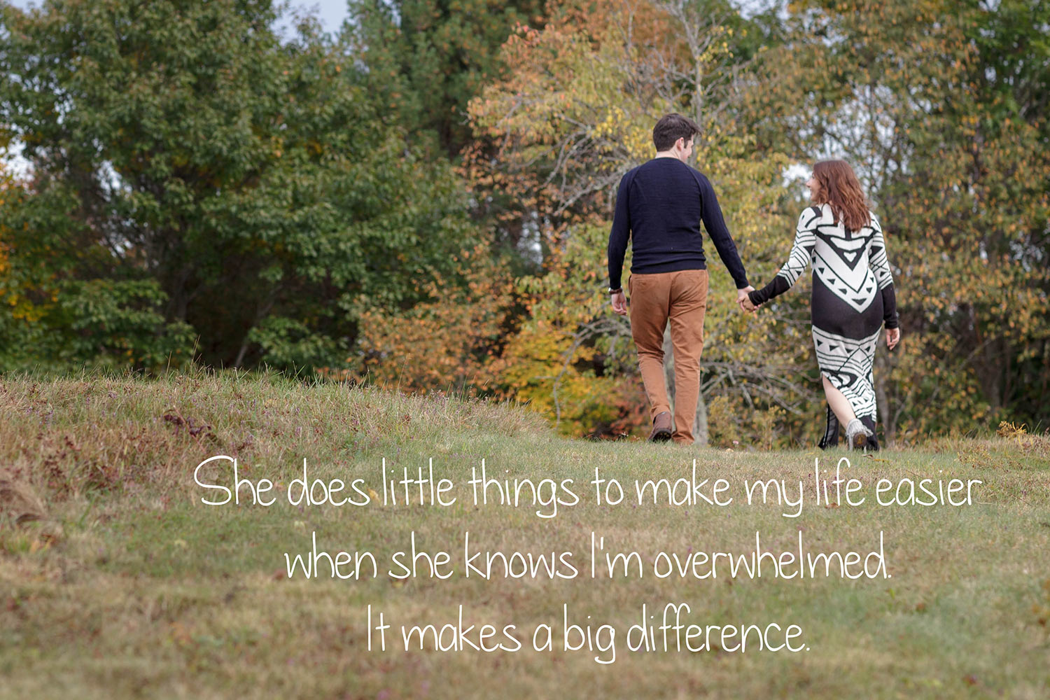 autumn engagement photos visual voice love story