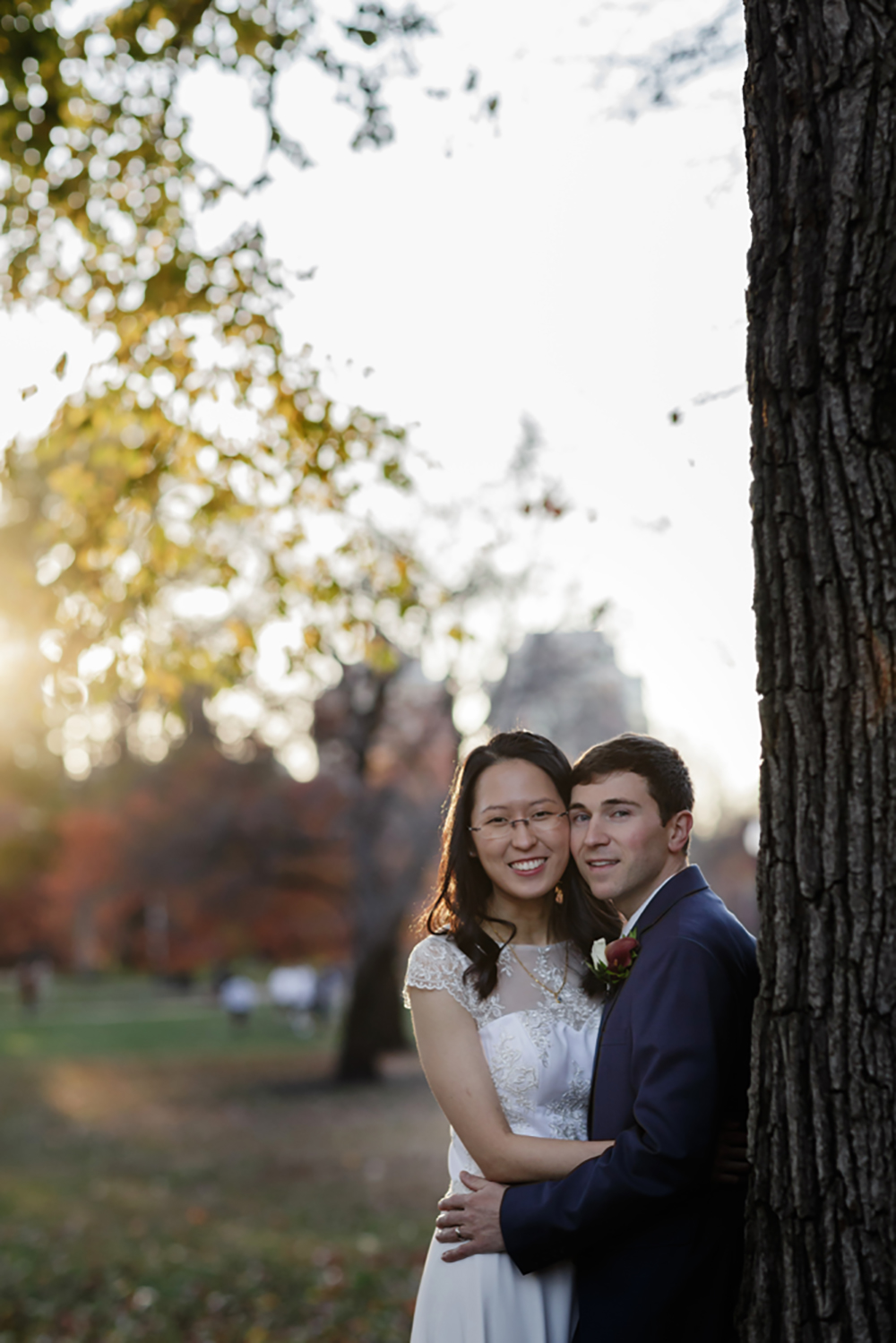 boston common wedding photography sunset fall