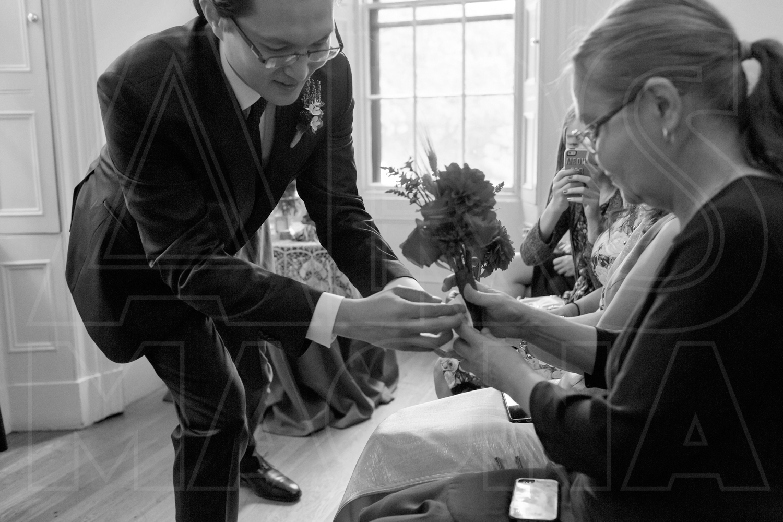 commanders mansion ceremony wedding photographer
