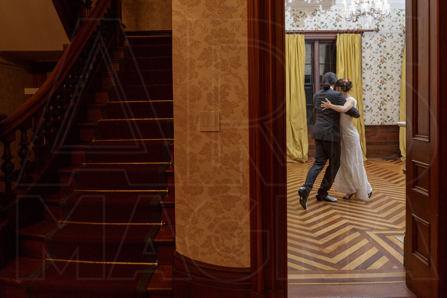 commanders mansion dance tango wedding photographer
