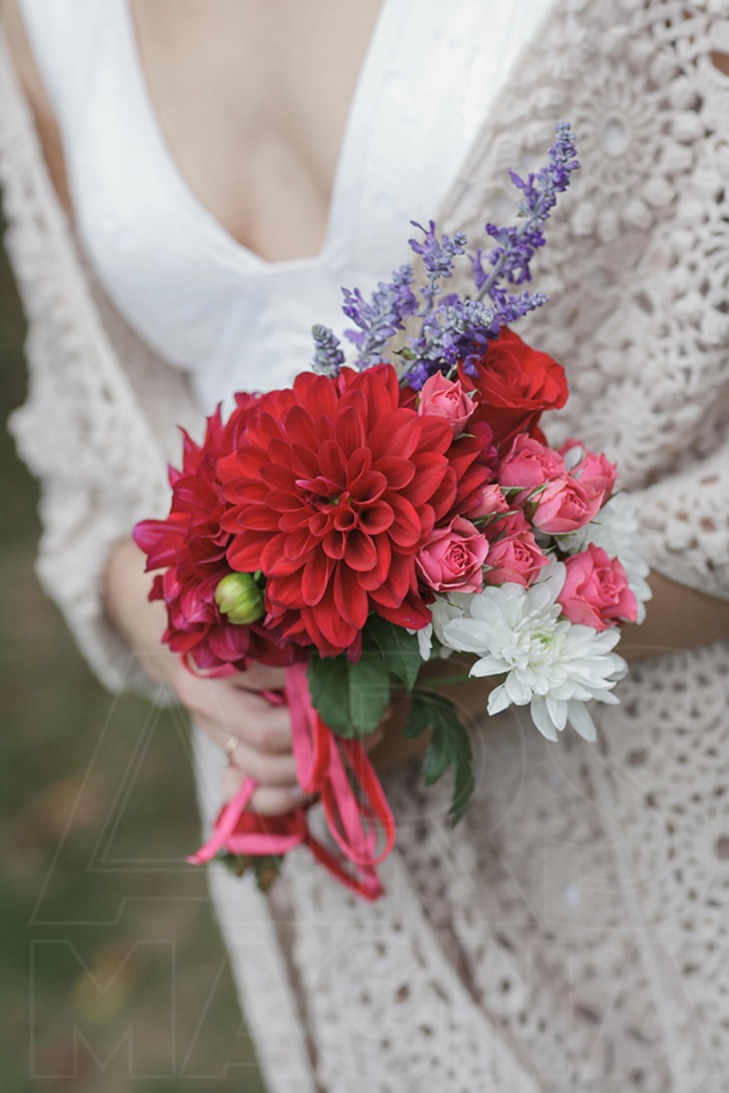 commanders mansion diy bridal bouquet
