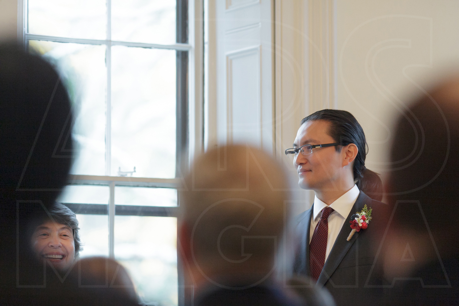commanders mansion indoor ceremony wedding