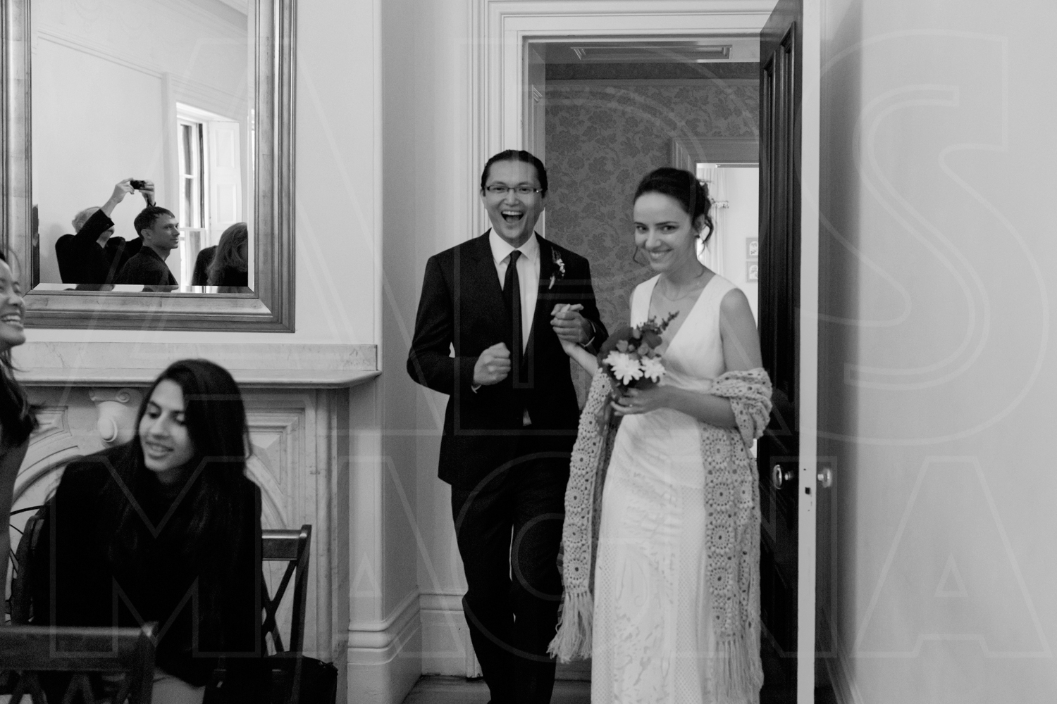 commanders mansion wedding ceremony photography