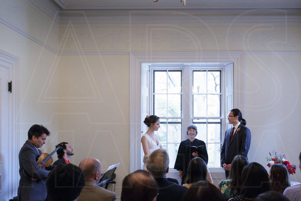 commanders mansion wedding ceremony photos