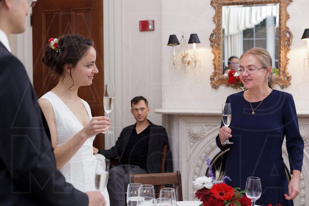 indie bride low key wedding commanders mansion toast mom wedding photographer