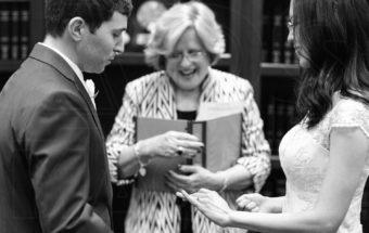 Wedding at Boston City Hall Elopement
