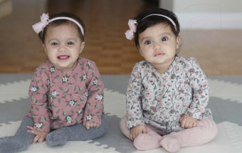 Boston Family Photography | At Home With Twins