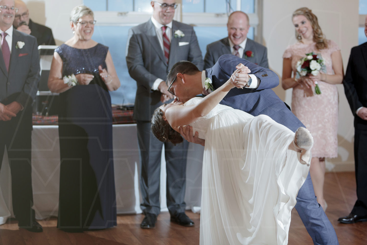 duxbury bay maritime academy wedding photos first dance