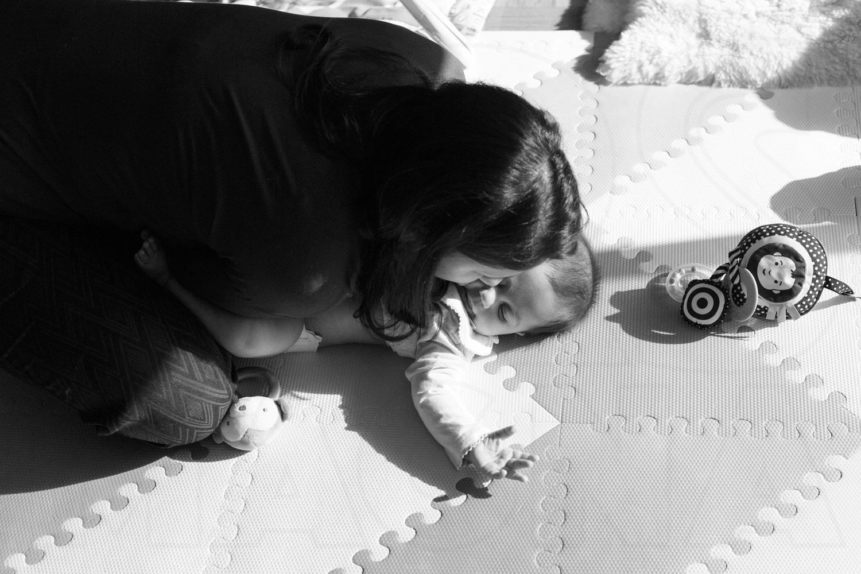 family photojournalism diaper change