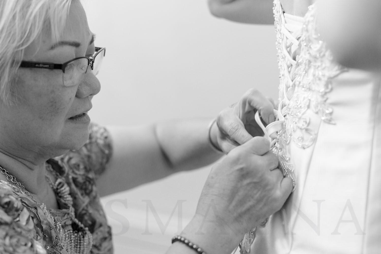 Shalin Liu Performance Center Wedding getting ready portraits