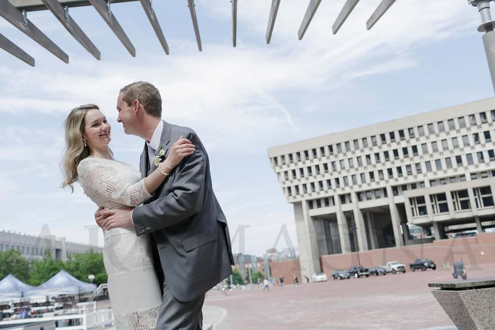 government center boston wedding photographer