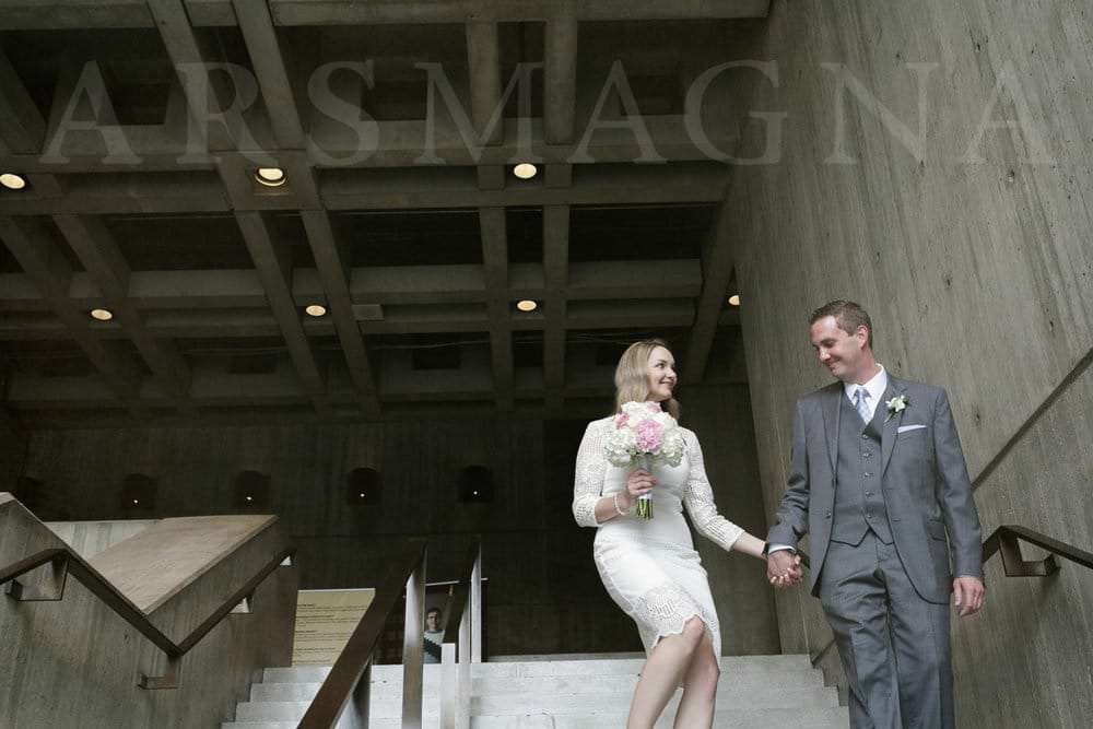 bride and groom boston city hall