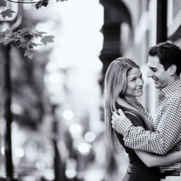 charlestown brownstone boston engagement photos