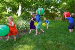backyard family portrait photographer boston ma