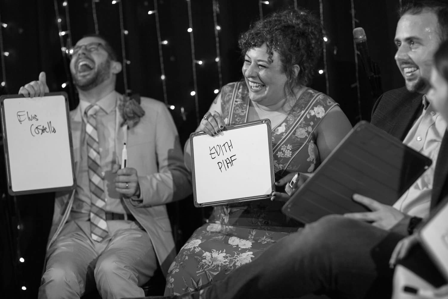 wedding reception newlywed game fun jamaica plain