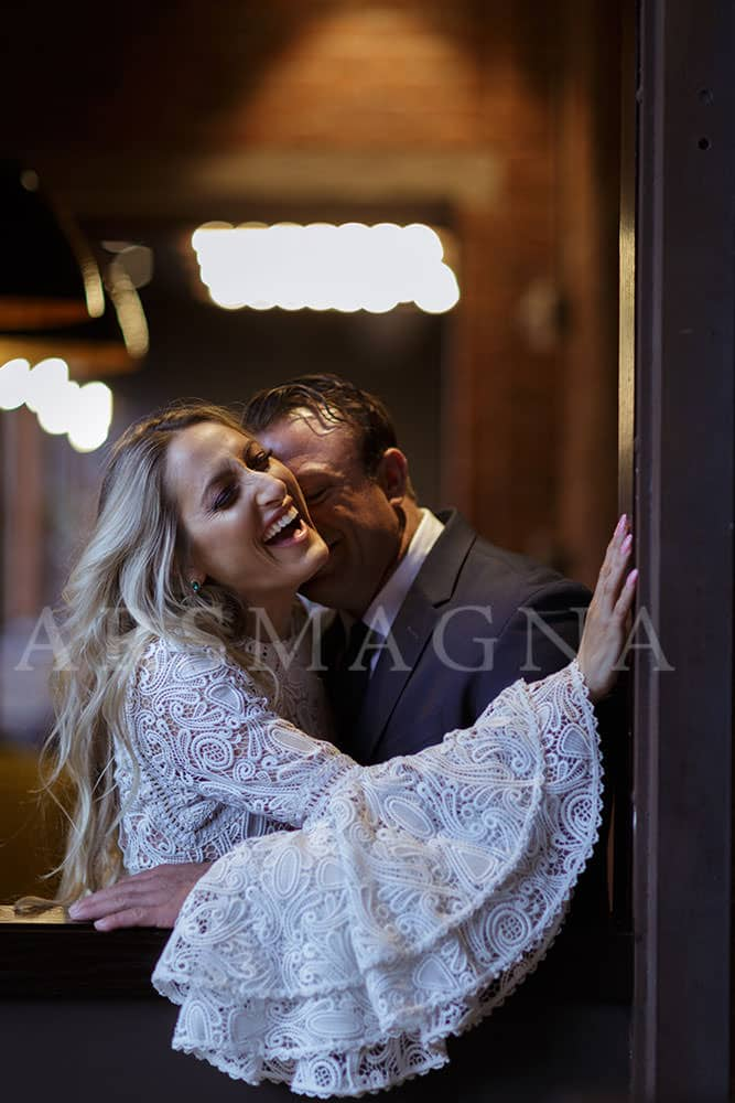 indoor engagement photographer boston restaurant
