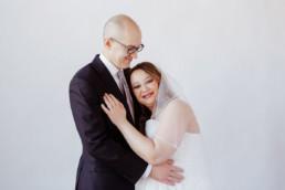 studio wedding pictures indoors boston