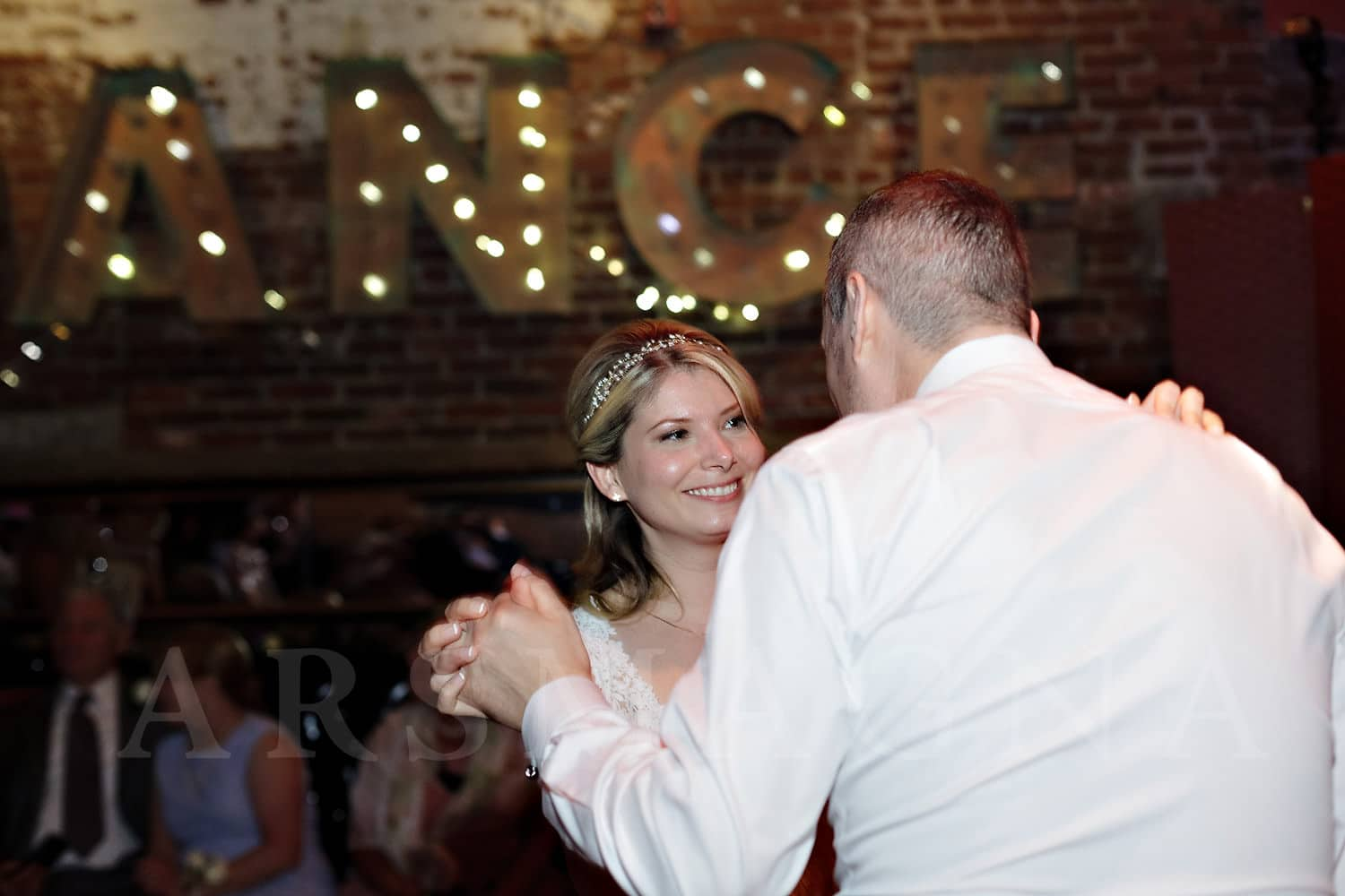 jamaica plain wedding photography indie reception milky way bella luna first dance