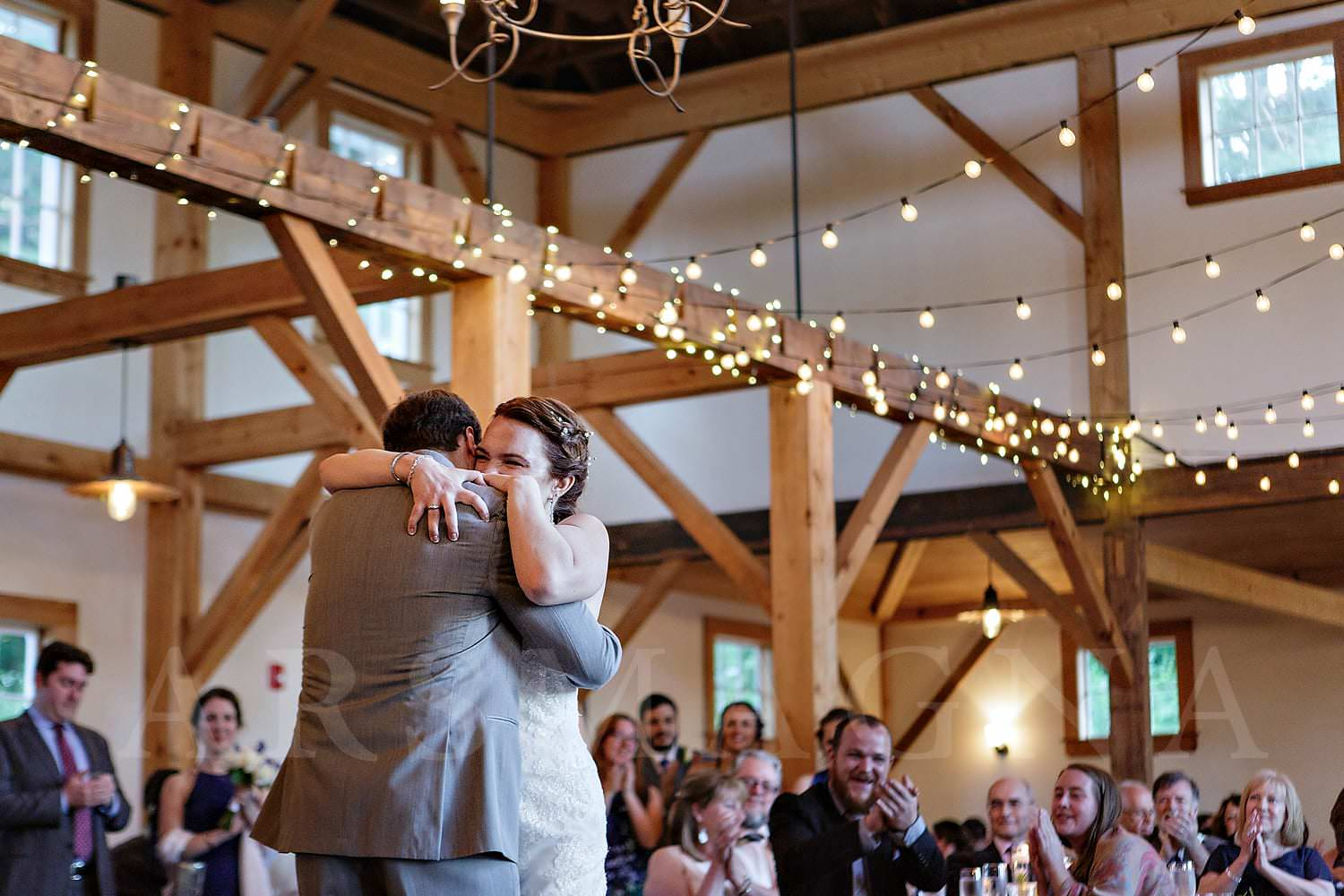 wedding photos peirce barn witch hill topsfield ma dance party