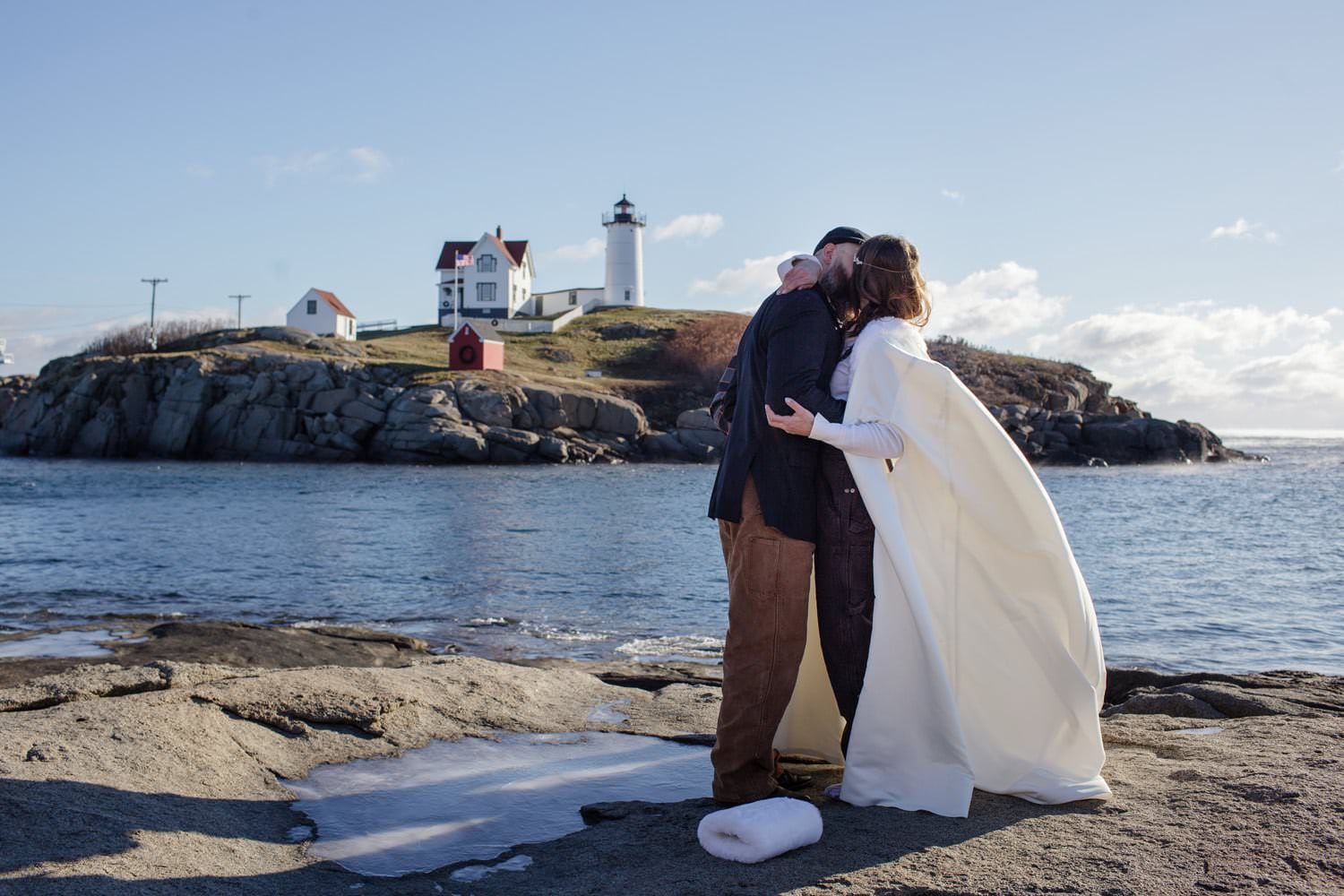 nubble point york elopement photography