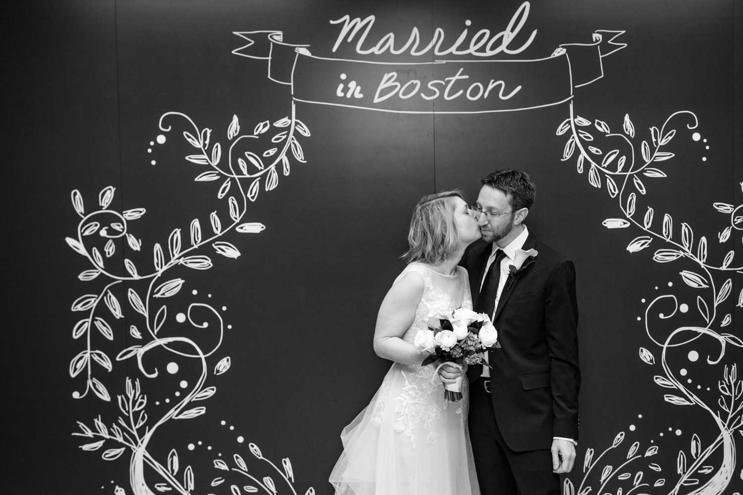 clerks office boston city hall elopement wedding photos