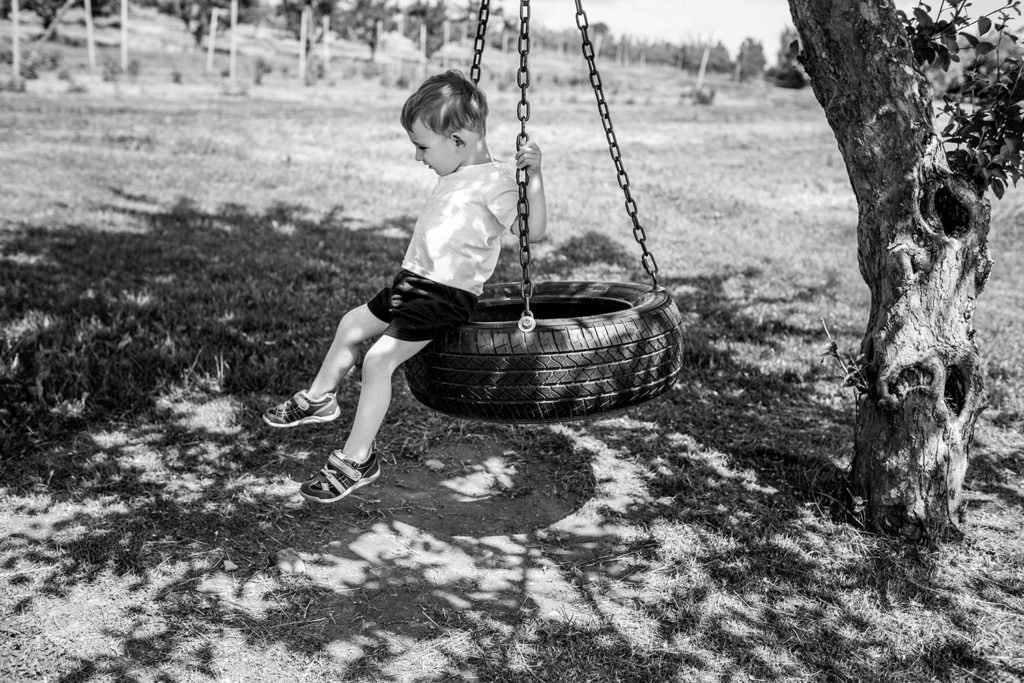 tire swing playing at love apple farm ghent ny berkshire hudson valley family photography