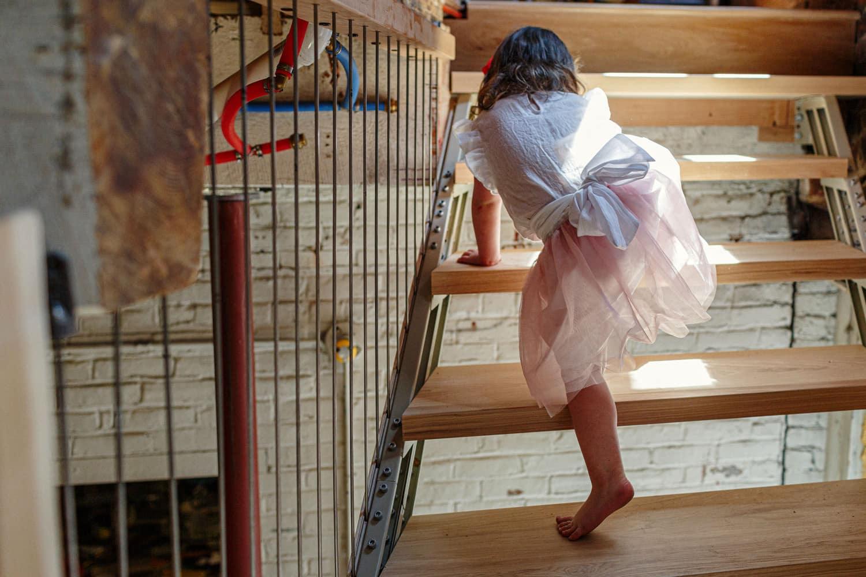 candid family photos in home newborn photographer boston ma